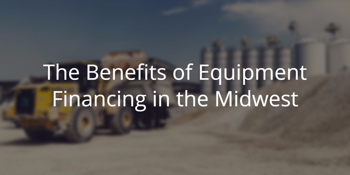 benefits of equipment financing
