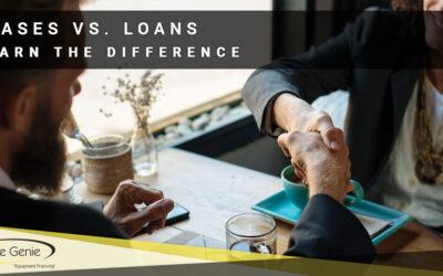Leases Vs. Loans