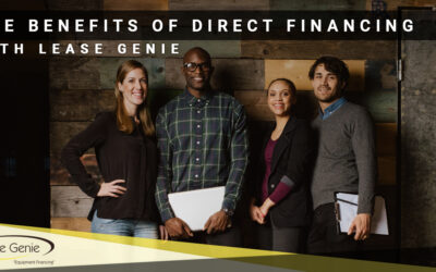 The Benefits of Direct Financing with Lease Genie