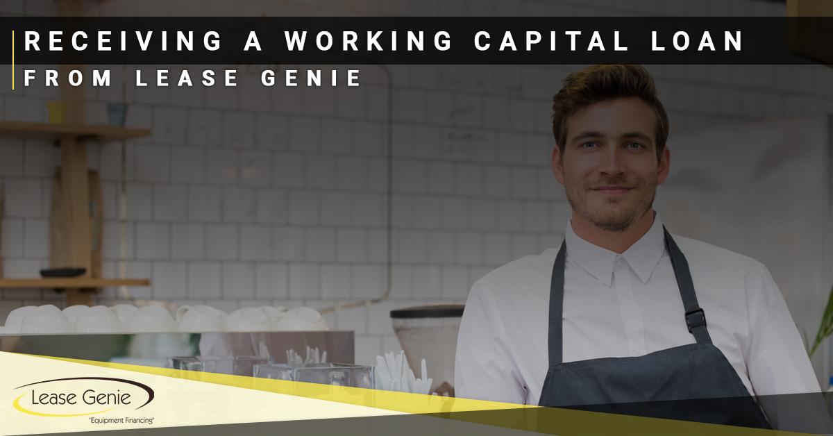 Restaurant Worker in a kitchen | Receiving a Working Capital Loan