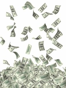 Money falling | Lease Geneie helps you understand the differences between financing and leasing